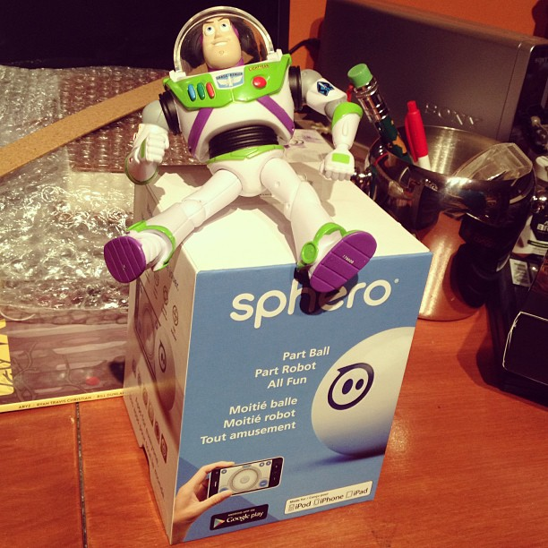 Buzz and Sphero