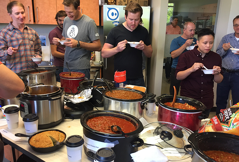 Weekly Wrap Up - Sphero's Famous Chili