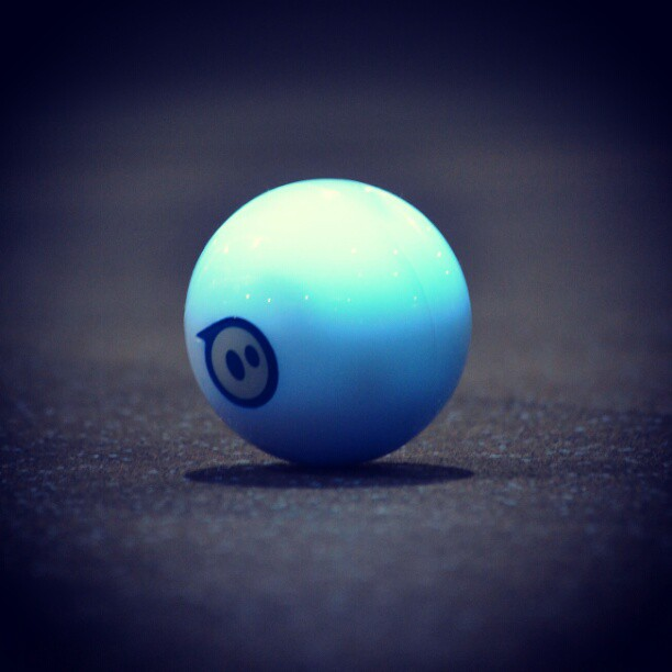 Sphero at the Track