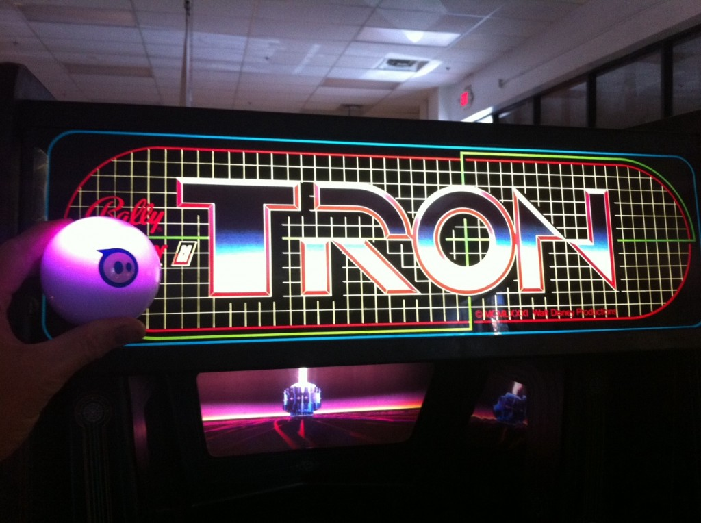 Sphero Plays Tron